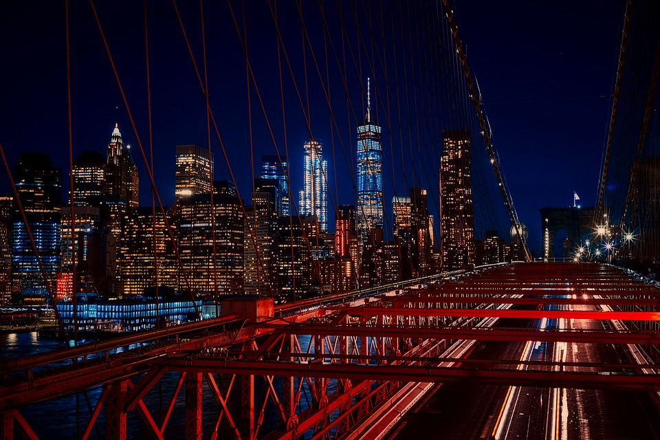 After moving from New Jersey to Brooklyn you'll be able to walk over Brooklyn Bridge